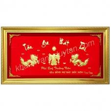 Khánh vàng Tân gia phát tài hình rồng