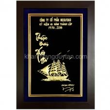 Khánh vàng quà mừng kỷ niệm thành lập công ty