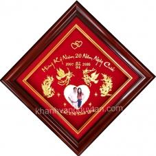 Khánh vàng kỷ niệm 20 năm ngày cưới