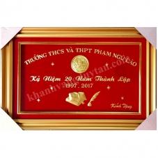 Khánh vàng quà tặng lưu niệm Thầy Cô