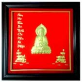 Khánh vàng hình Phật Thích Ca