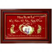 Qùa tặng Kỷ niệm 60 năm ngày cưới Bố Mẹ