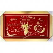 Khánh vàng quà tặng mừng thễ thành hôn